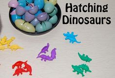 They were BIG, some ate meat - DINOSAURS just can't be BEAT! Come play to learn with Dinosaur Theme Math and Science activities just for Preschool!