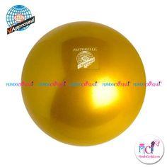#Pelota de Gimnasia #Rítmica Pastorelli monocolor-oro-metalico
