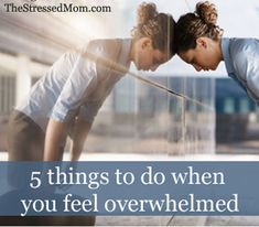5 things to do when overwhelmed