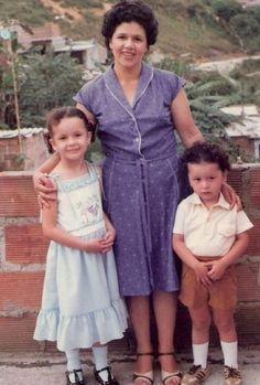 Mi madre y sus dos retoños