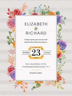 Templates for Wedding Invitation. 20 Templates for Wedding Invitation. Free Wedding Invitation Templates, Wedding Invitation Card Design, Minimalist Wedding Invitations, Simple Wedding Invitations, Vintage Wedding Invitations, Wedding Card, Invite, Illustration, Mobiles