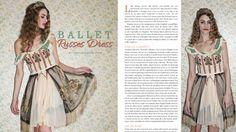 Ballet Russes Dress 2 New Boudoir Queen Vreeland by BoudoirQueen, $675.00