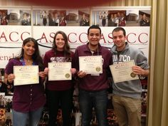 Congrats to MCCC students Serena Dunlap, Maggie Kanter, Eitan Laurence, & Austin Bearden for earning leadership certifications during the fall ASACC (American Student Association of Community Colleges) conference in New Orleans!