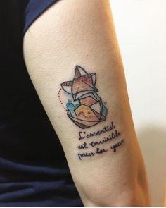 """Geometric Fox - Little prince - """"L'essentiel est invisible pour les yeux"""""""