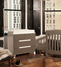 bloom Alma Dresser in Frost Grey | ModernNursery.com #summerinthecity #modernnursery