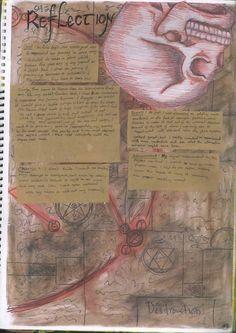 Journey Project: Reflection Page by Chhavi Kumar Art Portfolio, Reflection, Art Pieces, Journey, Create, Projects, Log Projects, Blue Prints, Artworks