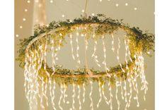 Christmas decor // Pakabinamas vainikas su lemputėmis. Domoplius.lt