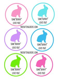 Free printable hoppy easter gift tags classroom treats hoppy somebunny loves you treat tag free printable negle Image collections