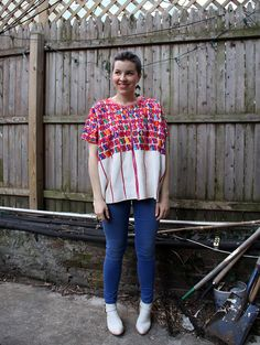 Peruvian shirt - Laura de Lille | Lily.fi