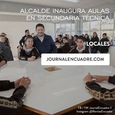 Revista Encuadre » Alcalde inaugura aulas en Secundaria Técnica