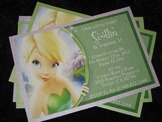 HECK FRIDAYS: TinkerBell Birthday Party Idea