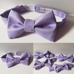 Handmade bow ties for toddlers and boys by Daydream Believers
