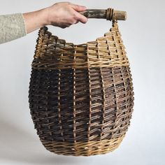 Woven into the shape of a honey pot, this basket looks great next to the fire for storing peat or next to the sofa to keep your favourite blanket close to hand on those chilly winter nights. Colour variations will occur as all of the willow naturally grows in different shades of browns and greens, Diane selects and matches the colours together in her own designs. Birch Branches, Honeypot, Textures And Tones, Spiral Pattern, Natural Texture, Basket, Shades, Sofa, Fire