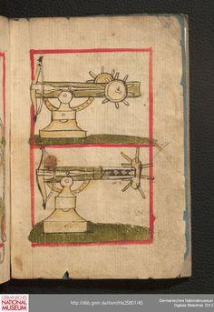 Feuerwerkbuch 1420-25 Hs 25801  Folio 21r