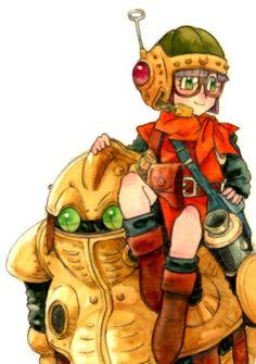 Robo & Lucca Chrono Trigger