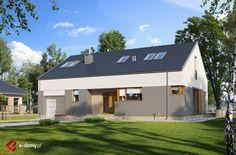 E-171 - E-DOMY.pl Projekty domów jednorodzinnych, piętrowych, energooszczędnych.