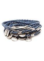Kiki JOIAS 10 Commandment Bracelet - Jeans & Silver . Very cool design