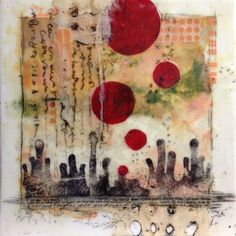 Learn how to do encaustic painting. Learn how to paint with beeswax. Set up your own encaustic studio and learn the basics of getting started in encaustic painting.