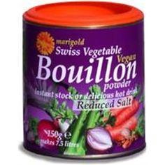 Marigold Swiss Vegan Bouillon -L/SaltYeastFree GlutenFree (Purple)150g - http://www.veggiemeals.com.au/shop/grocery/marigold-swiss-vegan-bouillon-lsaltyeastfree-glutenfree-purple150g/ #150G, #Bouillon, #GlutenFree, #GroceryGtVegetableStock, #Health, #L, #Marigold, #Products, #Purple, #SaltYeastFree, #Swiss, #Vegan #veggiemeals #vegetarian
