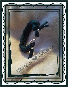 Cuqui♥Pulsera 3€ #trapillo #crochet #bracelet