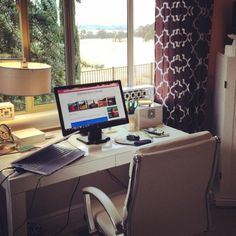 My home office on Stylemindchic Life. My new office chair is incredibly comfortable and has changed the way I work.  #stylemindchic lifestyle blog