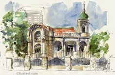 Urban Sketchers: Two visits to São Paulo: Before and After the Symposium