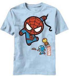 Marvel Kawaii Character Fly Mens T-Shirt | L Mad Engine, http://www.amazon.co.uk/dp/B009I4Z8GU/ref=cm_sw_r_pi_dp_K1tOqb1GVG7M9