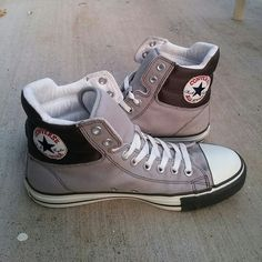 Unisex Converse hightop sneakers Mens US 9 and Womens US 11 size. Used with  some