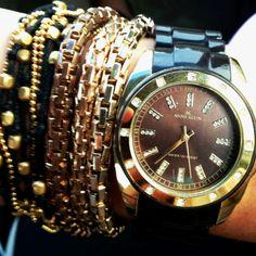 Bracelets & Watch.