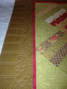 quilting a border | visit roseygirldesigns blogspot com