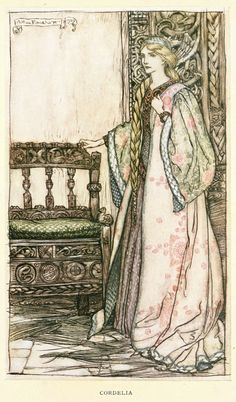 Cordelia; King Lear - Tales From Shakespeare by Charles and Mary Lamb, 1909