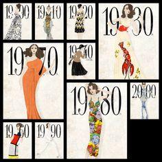 historia moda siglo xx: