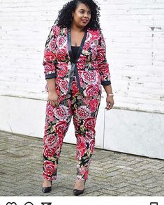I am loving this pant suit girl! Yas! Thanks for tagging #tcfstyle #repost @supersizemyfashion
