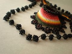 Vitis ... Freeform Crochet Necklace | irregular expressions | Flickr