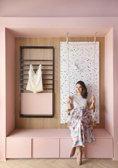 Boutique Interior, Boutique Decor, Diy Room Decor, Bedroom Decor, Small Balcony Design, Beauty Salon Decor, Pink Bedrooms, Office Interior Design, Retail Design