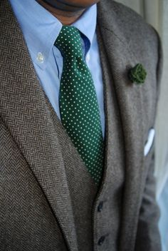 emerald green sweater with charcoal grey suit - Google Search