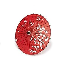 Bamboo Japanese Style Parasol Odori Gasa Cosplay 16.5 x 31.4 inches From Japan (Red Plum) Review