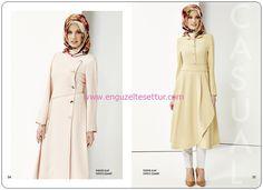nihan giyim 2014 2015 ilkbahar yaz koleksiyonu look book 001 tesettür kapalı giyim kataloğu