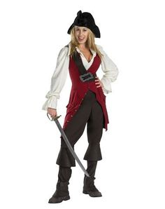 Pirates of the Caribbean Elizabeth Adult Womens Costume