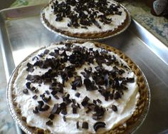 Homemade Chocolate Haupia Pie
