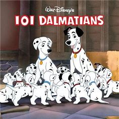 101 Dalmatians (1961) this movie has literally always been my favorite ever..with Winnie the Pooh next in line