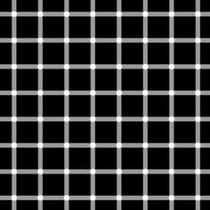 Seeing isnt believing: Mind-bending optical illusions | Fox News-Shape, position, colour, and 3D contrast converge to produce the illusion of black dots at the intersections.