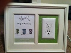 Independent Scentsy Consultant: Making Your Own Plug-In Display