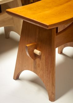 Cherry Stool. Baby wing stool