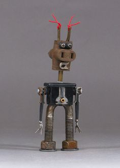 Hey, I found this really awesome Etsy listing at https://www.etsy.com/listing/292521917/robot-sculpture-metal-art-robot-metal
