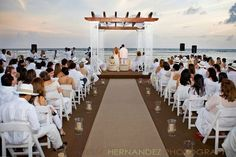 guests white wedding - Google Search