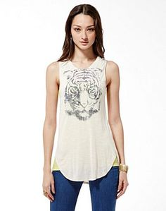 Tiger Eye Tee - New Arrivals - Lucky Brand Jeans