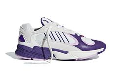e2cb69ab4ff4 The  Dragon Ball Z  x adidas Collection Includes a Striking Purple White  Yung