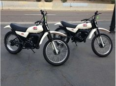 1979- Yamaha MX175's- these models were actually DT Series stripped of street gear for the casual trail rider.
