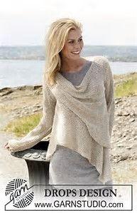 Bildresultat för knitted wrap drops